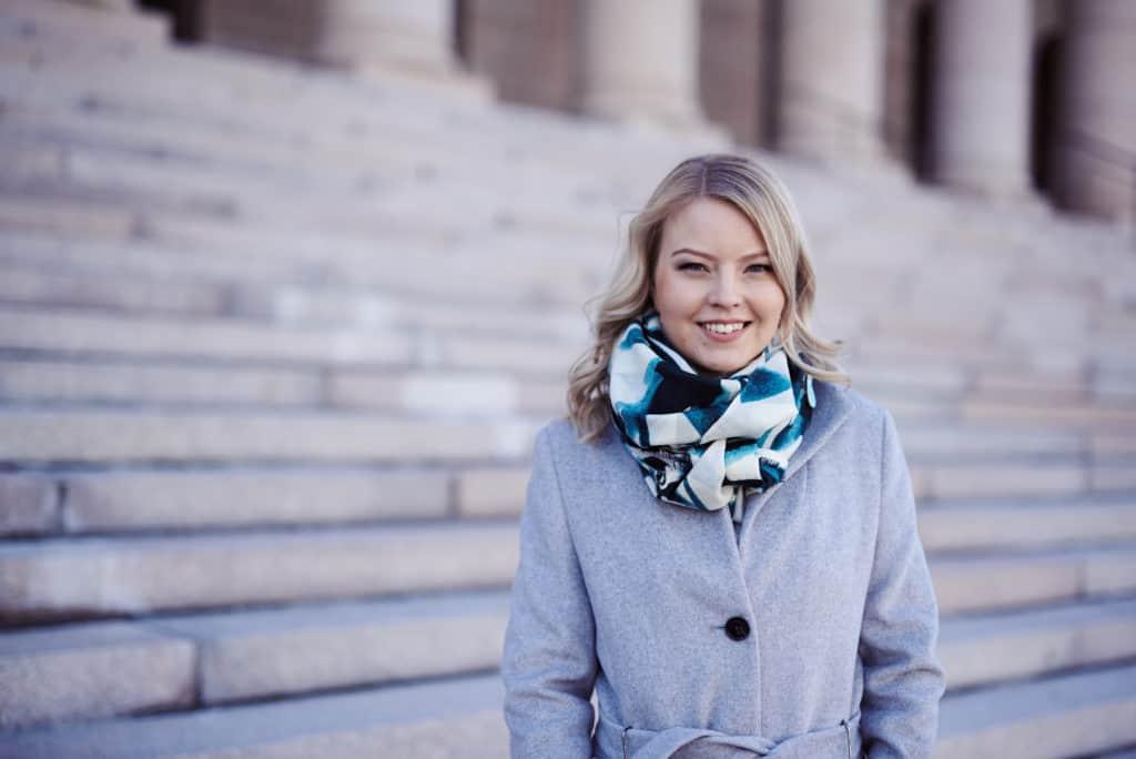 Eduskuntavaaliehdokas Janika Takatalo Kokoomus Turku