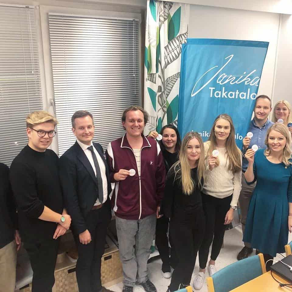 Janika Takatalo, tule mukaan, eduskuntavaalit, Varsinais-Suomi