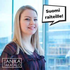 Tunnin juna, Kupittaa, Kupittaan rautatieasemalla, eduskuntavaaliehdokas, Salo, Turku, Kokoomus, Tunnin juna