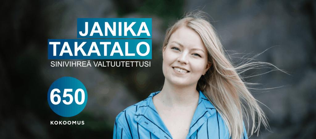 Janika Takatalo kokoomus Turku kuntavaalit