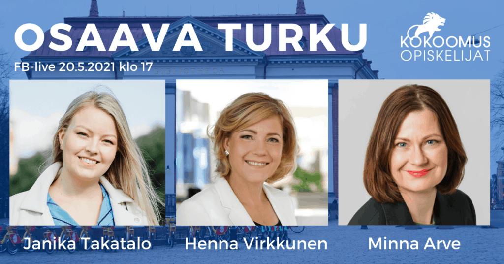 Osaava Turku -tapahtuma 20.5.